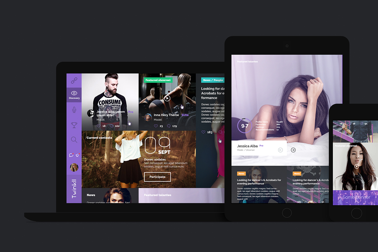 Twinkll-all-devices-discovery-social-online-casting-audition-service-website-by-basov-design