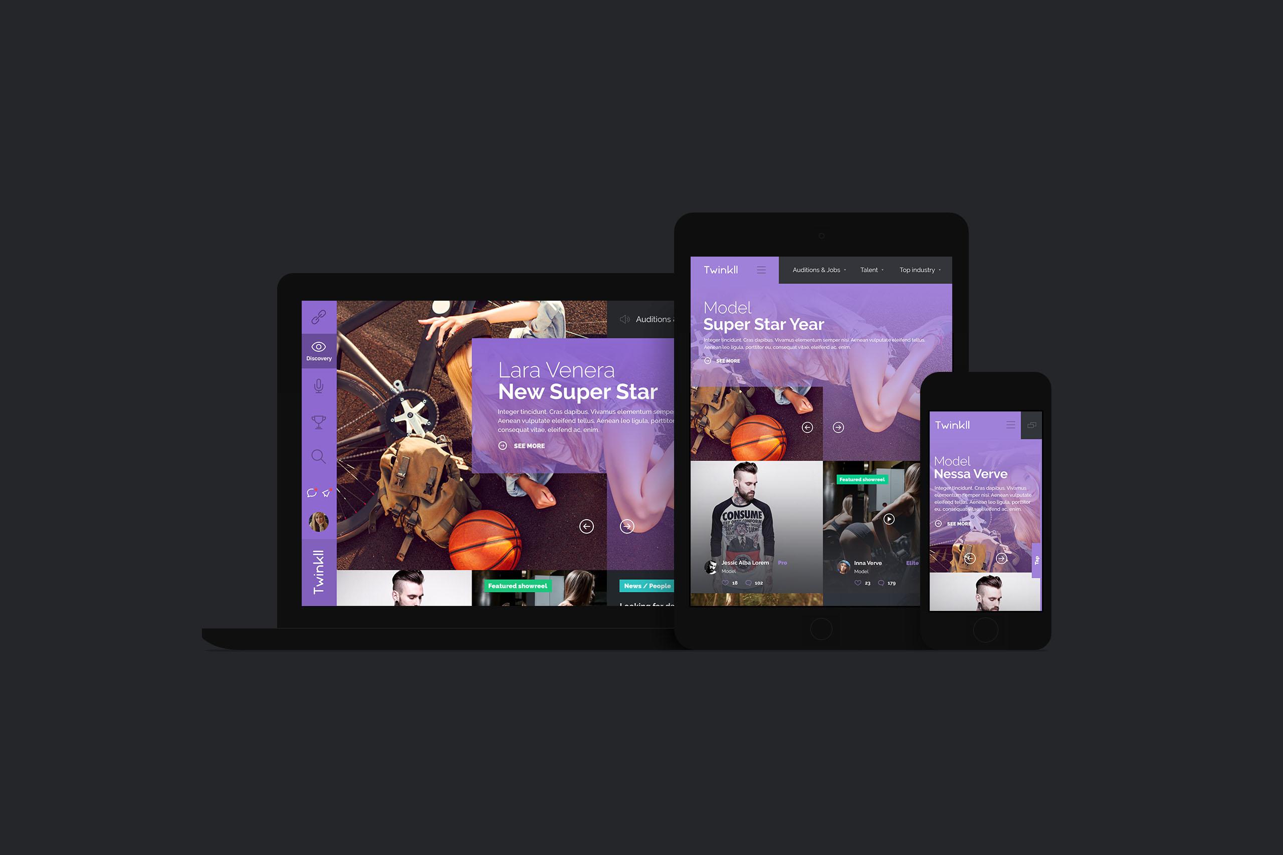 Twinkll-all-devices-social-online-casting-audition-service-website-by-basov-design-bureau-italy-responsive-model-artist-black-dark-find-person_1