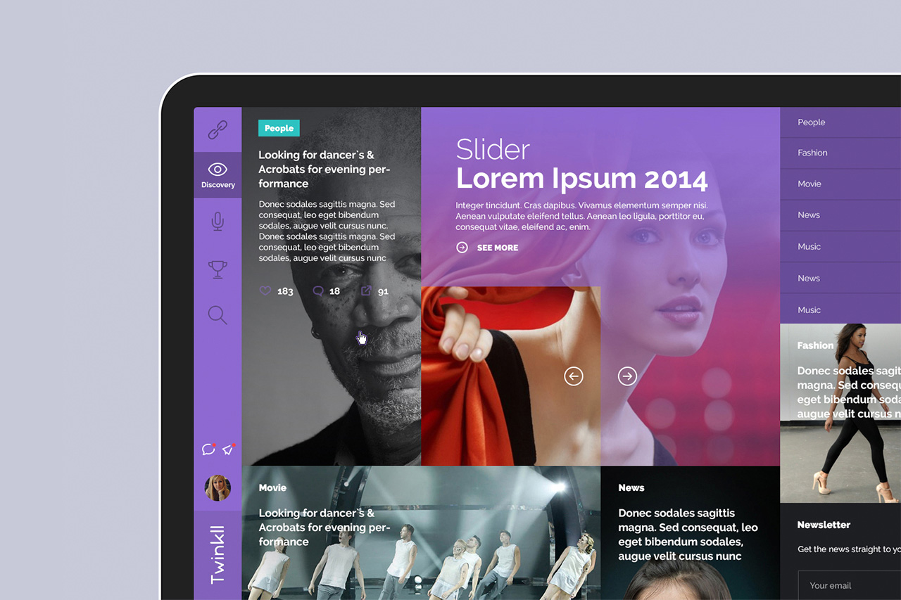 Twinkll-slider-homepage-fashion-video-discovery-social-online-casting-audition-service-website-by-basov